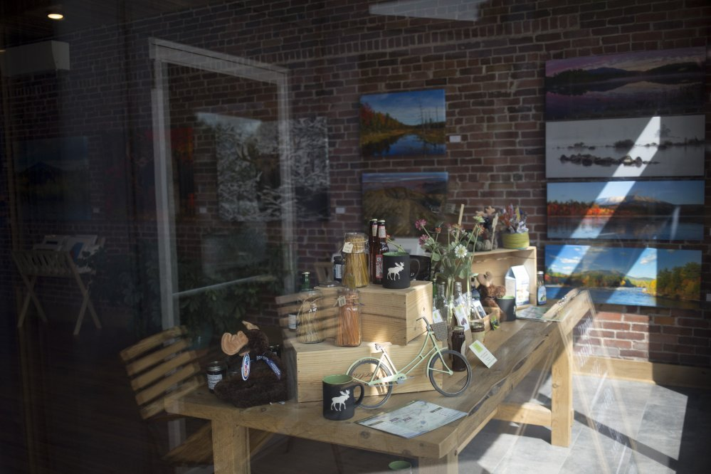 Gallery new businesses pin hopes on katahdin woods and for Charlie s motor mall augusta maine