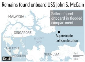 Human Errors Likely To Blame For Recent Navy Accidents Experts - Us navy fleet locations map