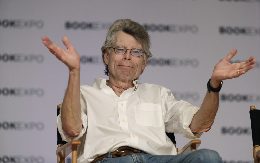 Maine author Stephen King is celebrating his 70th birthday today with the latest movie based on one of his books,