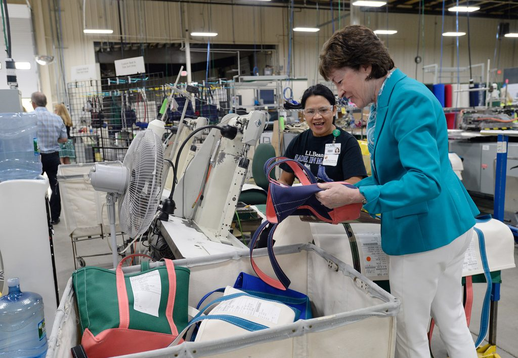 New l l bean plant in lewiston portland press herald for Charlie s motor mall augusta me