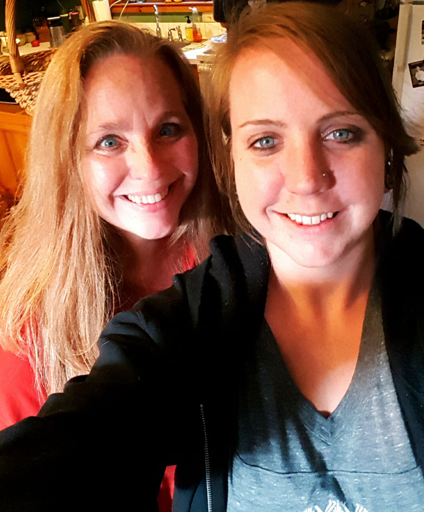 At left is Shauna Drashcovich, whose daughter Megan Gregory, at right, has been missing for three months.