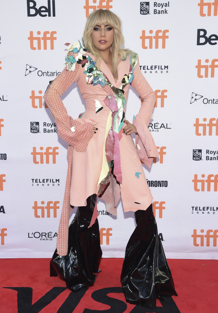 Lady Gaga attends a premiere for