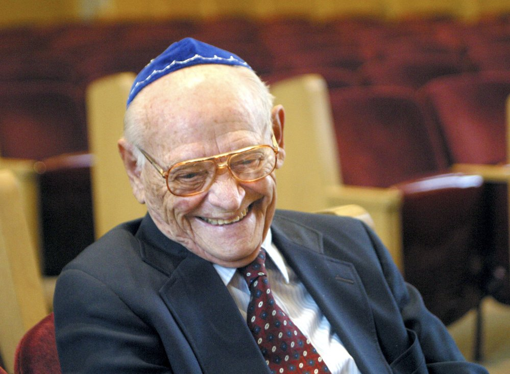 Kurt Messerschmidt served as cantor emeritus at Temple Beth El in Portland.