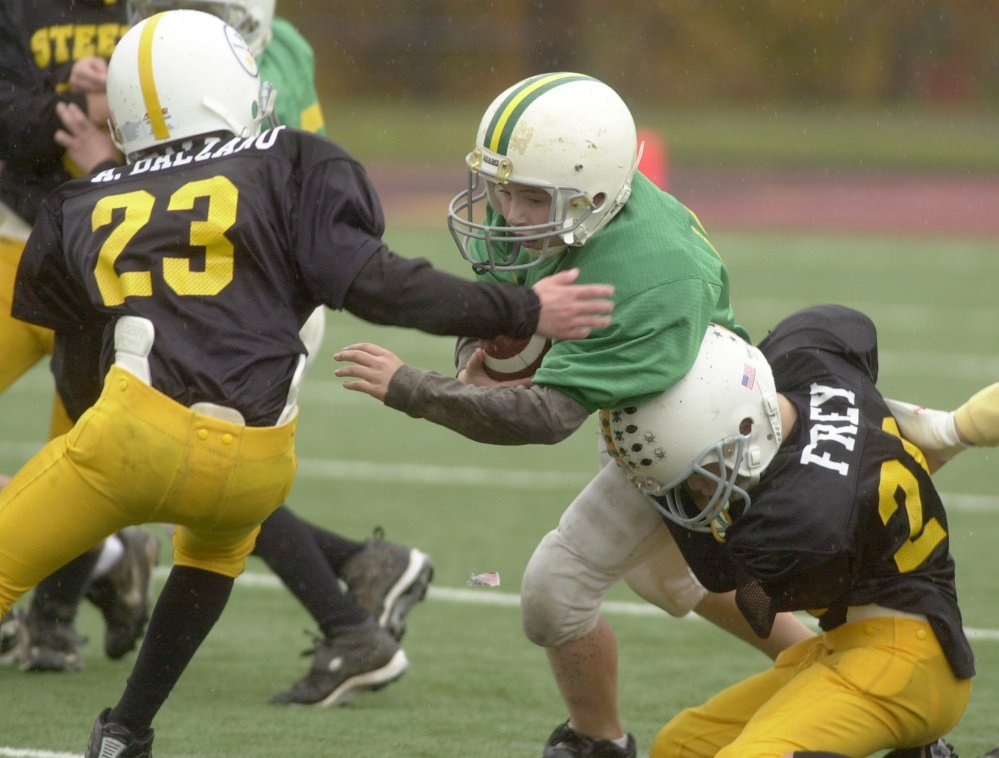Research conducted by Boston University found that youth football players under the age of 12 double the risk of developing mood and behavioral problems, and triple their chances of suffering depression, later in life.