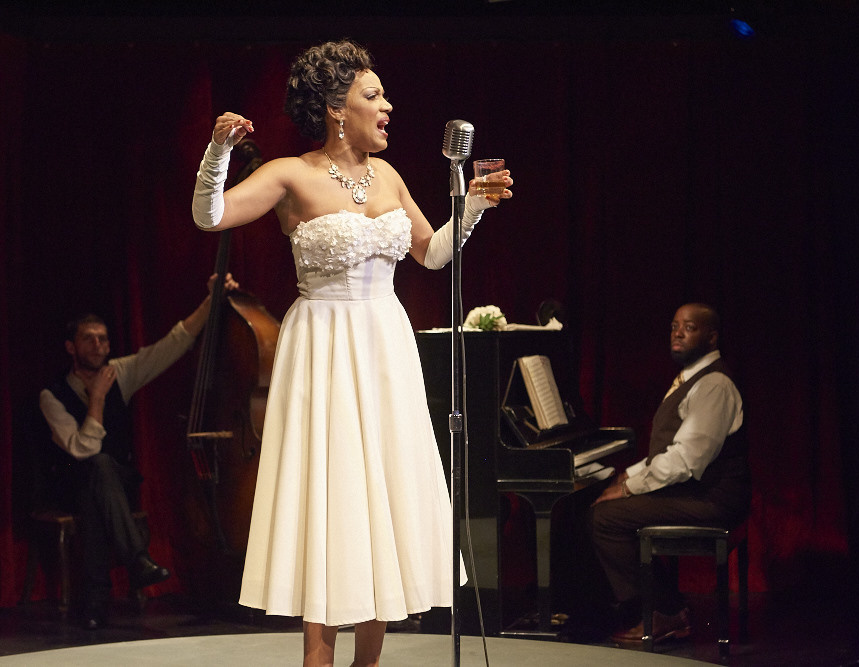 Tracey Conyer Lee as Billie Holiday.