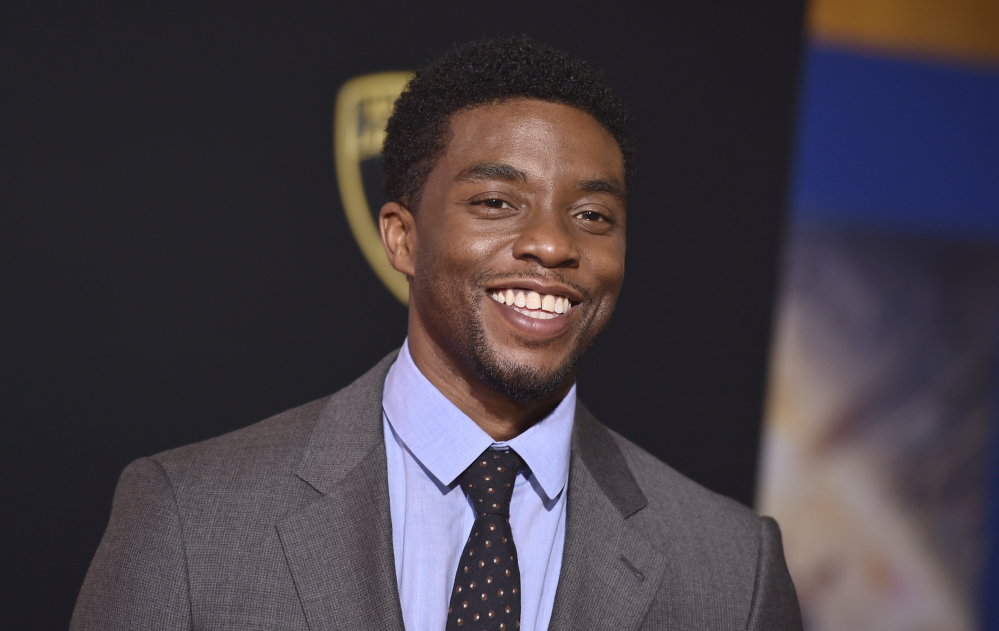 Chadwick Boseman, who portrays former Supreme Court Justice Thurgood Marshall in the upcoming film