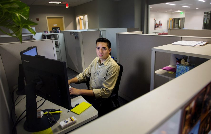 Luis Paniagua Was A Summer Intern At Wex Inc In South Portland After His Senior