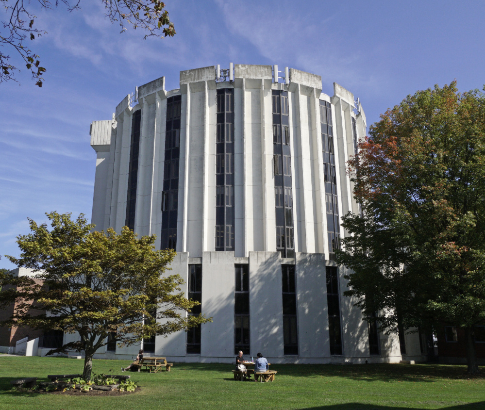 Architectural Digest has named the University of Maine School of Law building in Portland one of the eight ugliest university buildings in the United States.