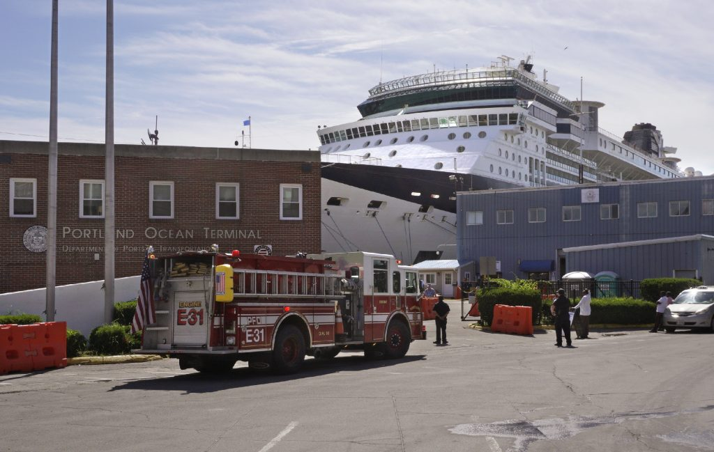 The busiest time for cruise ship arrivals arrive over Labor Day weekend. Maine expects another record number of visits from the big ships this year, with 423 arrivals planned, 62 more than last year. In Portland alone, 103 ships are scheduled, compared to 77 last year.