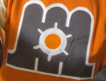The Maine Mariners wore orange, black and white when they started play in Portland in 1977. The city could soon have another Maine Mariners team.