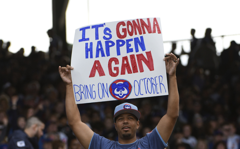 Schedule of Cubs' first postseason games released