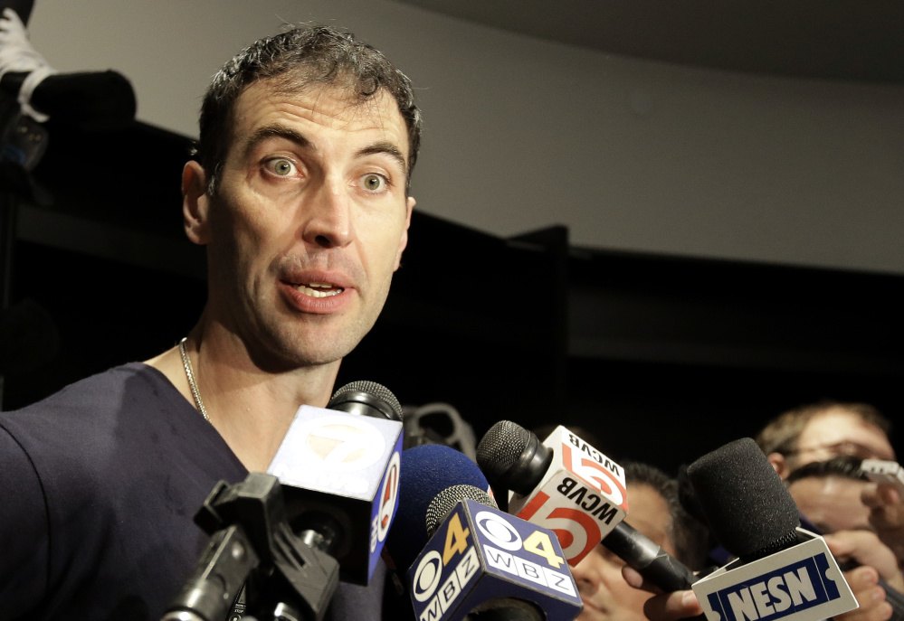 Defenseman Zdeno Chara is entering his 12th season with the Bruins, and hopes for more after that.