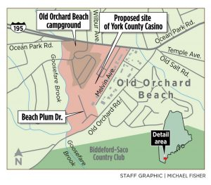 Old Orchard Beach campground and mobile home park a potential casino site