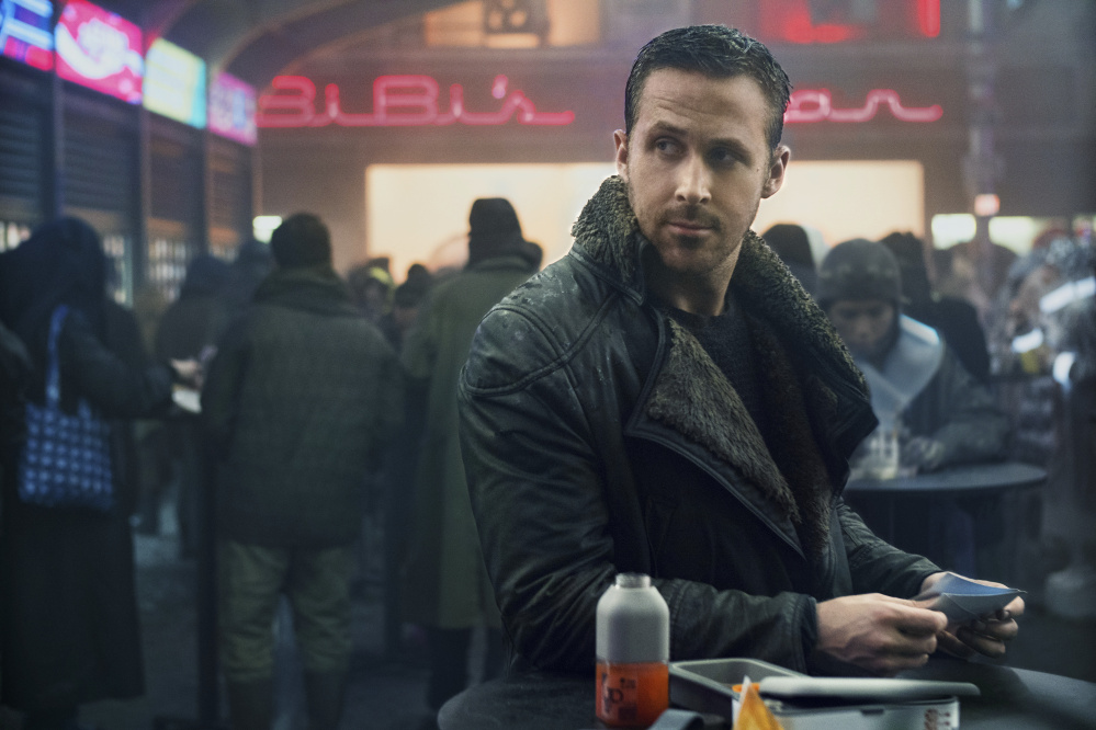 This image released by Warner Bros. Pictures shows Ryan Gosling in a scene from
