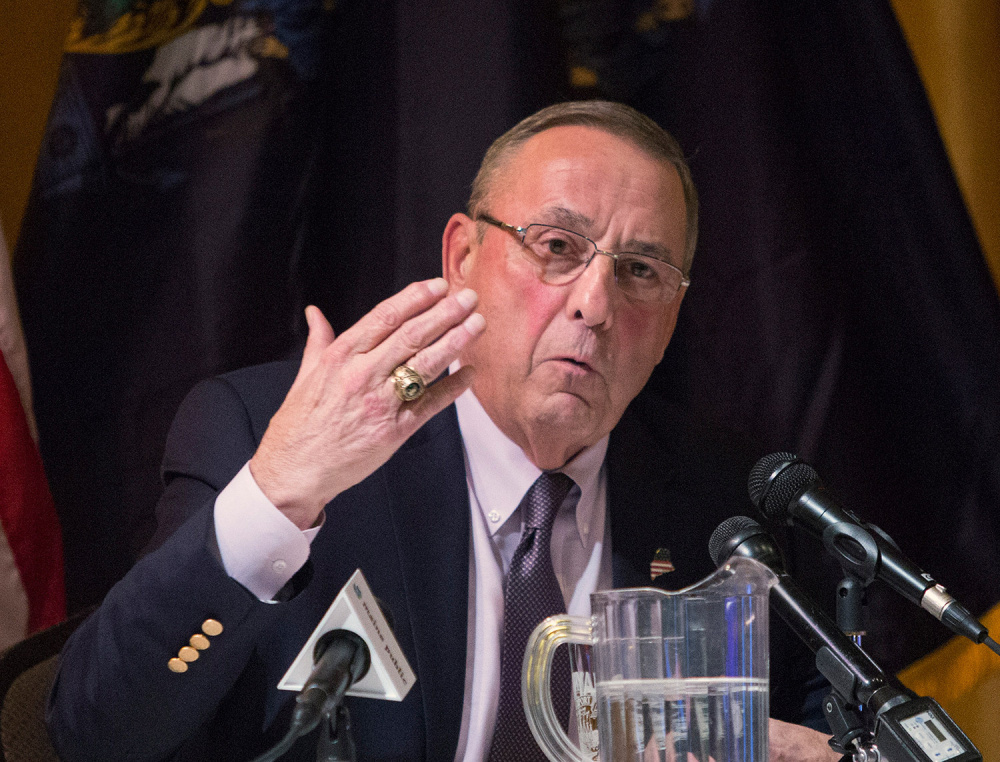 A proposed secure psychiatric facility for patients found not responsible for crimes they have committed or who are unfit to stand trial won't open until 2019 because Gov. LePage, above, won't address valid questions about the project.