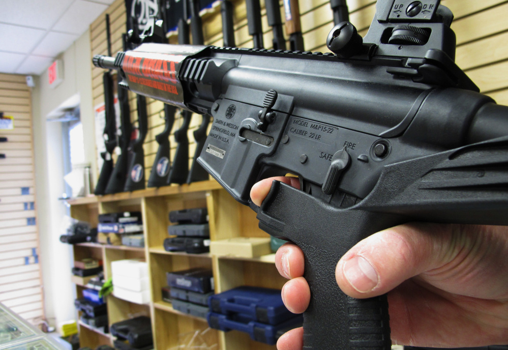 The Las Vegas massacre demonstrates again the risk of making military-style, rapid-fire weapons available to consumers. Accessories to make them more deadly are bad, but they aren't the real problem.