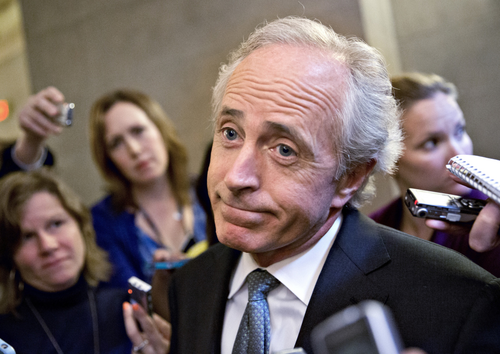 Sen. Bob Corker, R-Tenn., who has announced that he will not seek re-election, has been sounding off publicly about President Trump.