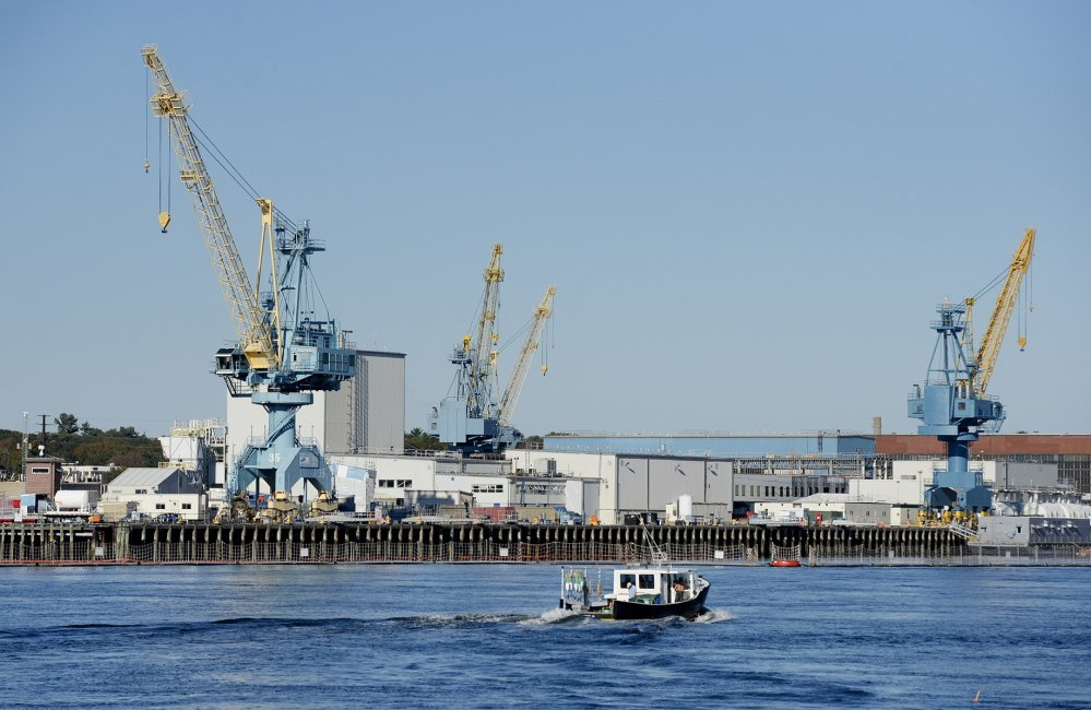 The Portsmouth Naval Shipyard in Kittery is one of four naval shipyards in the country, and a new report finds poor structural conditions at them all.