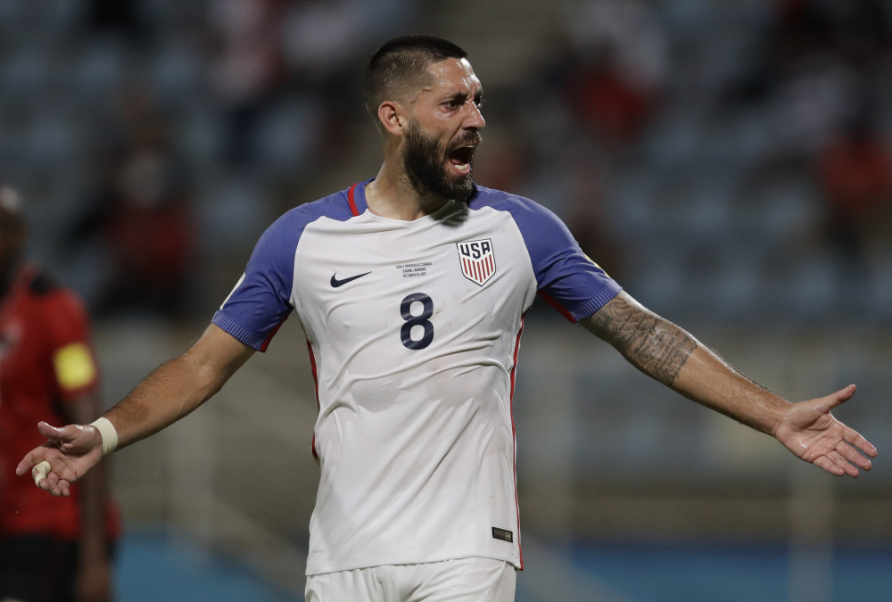 Clint Dempsey showed some fire Tuesday night during the devastating loss to an inferior opponent. His teammates? Not so much. And now U.S. fans are reeling after their national team threw a World Cup berth away.