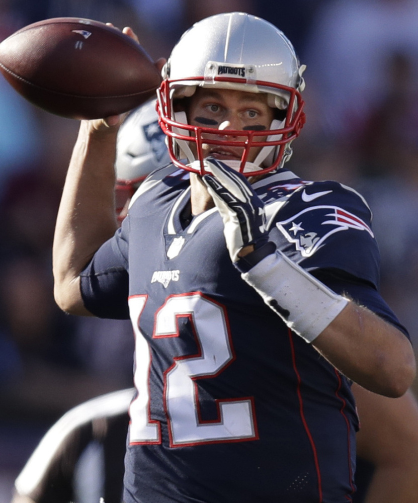 Quarterback Tom Brady is confident the Patriots' second-half troubles on offense will be rectified.