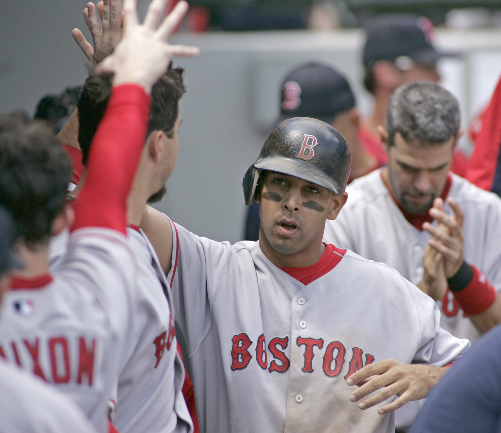 Alex Cora, who played for the Red Sox from 2005-08, will reportedly interview for Boston's vacant manager position on Sunday.