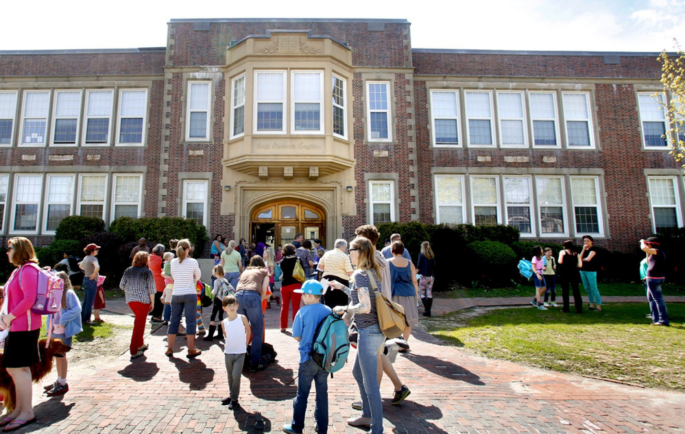 Longfellow Elementary School is one of 4 Portland elementary schools that have not had significant investments since they were built 40 to 60 years ago. A bond issue to restore at least 2 of the schools will be on the Nov. 7 ballot.