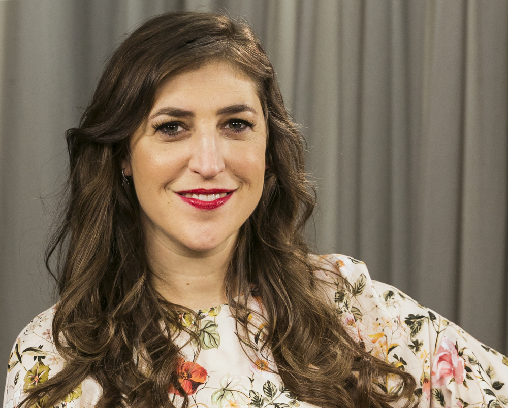 Mayim Bialik discussed a recent opinion piece that drew criticism.