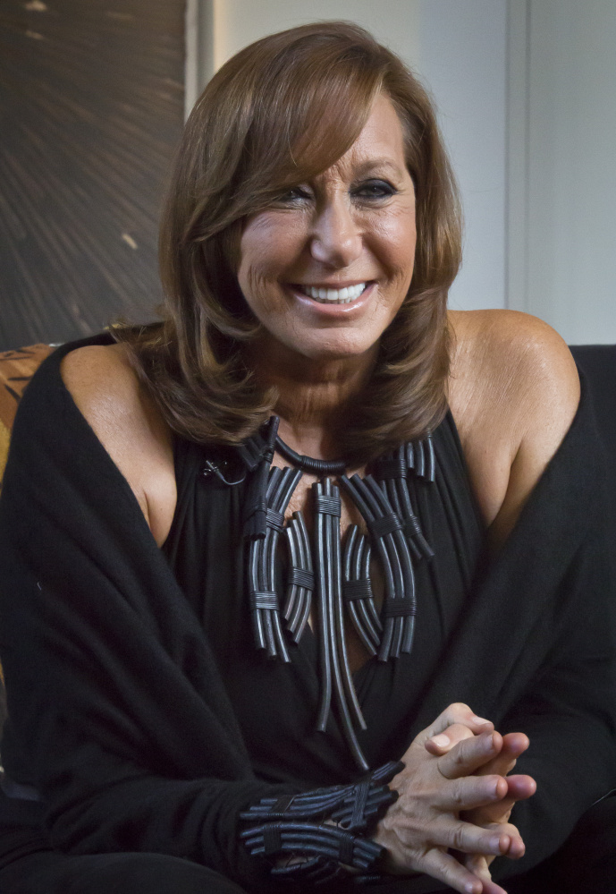 Donna Karan apologized for remarks suggesting victims were