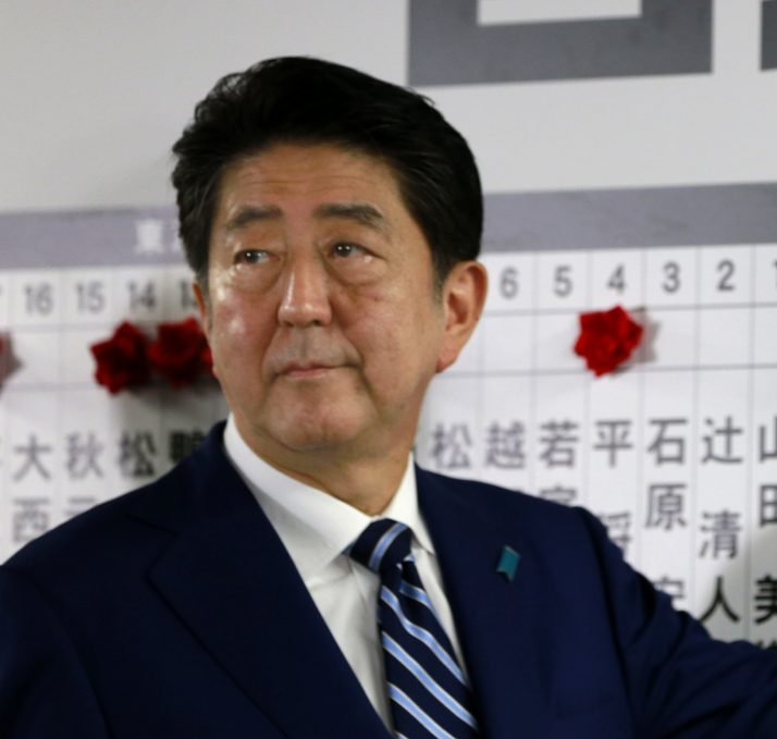 Japanese Prime Minister Shinzo Abe and his Liberal Democratic Party won their election mostly on good governance.