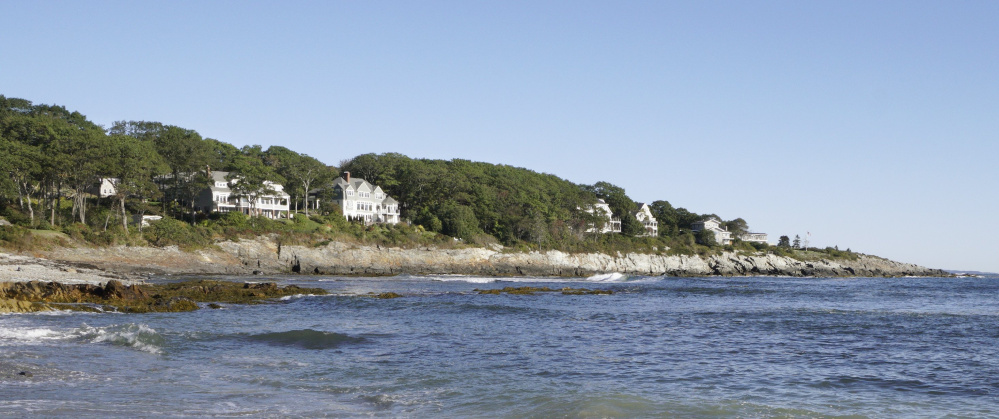 Access to the coast along this area of Shore Acres and Broad Cove in Cape Elizabeth has divided neighbors for years. A petition signed by 693 residents so far is calling for town councilors to accept two paper streets there