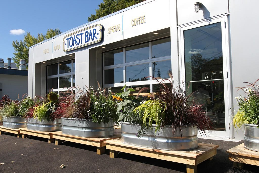 Scratch Baking Co. will open its Toast Bar in the next few weeks at 205 Broadway in South Portland.   Photo by Melanie Sochan/The Forecaster
