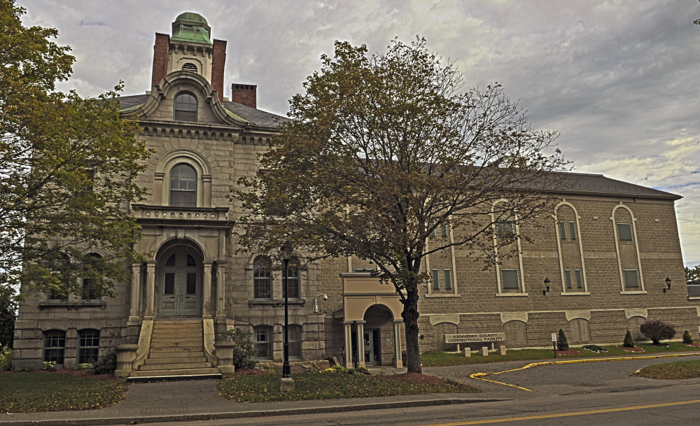 This 2015 file photo shows the Kennebec County Correctional Facility in Augusta, where an inmate claims she was forcibly medicated.