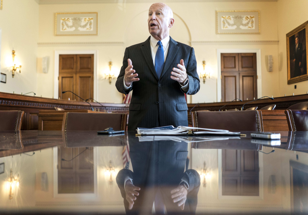 House Ways and Means Committee Chairman Kevin Brady hints Friday that he was not inclined to introduce a new complication into the 400-page tax bill.