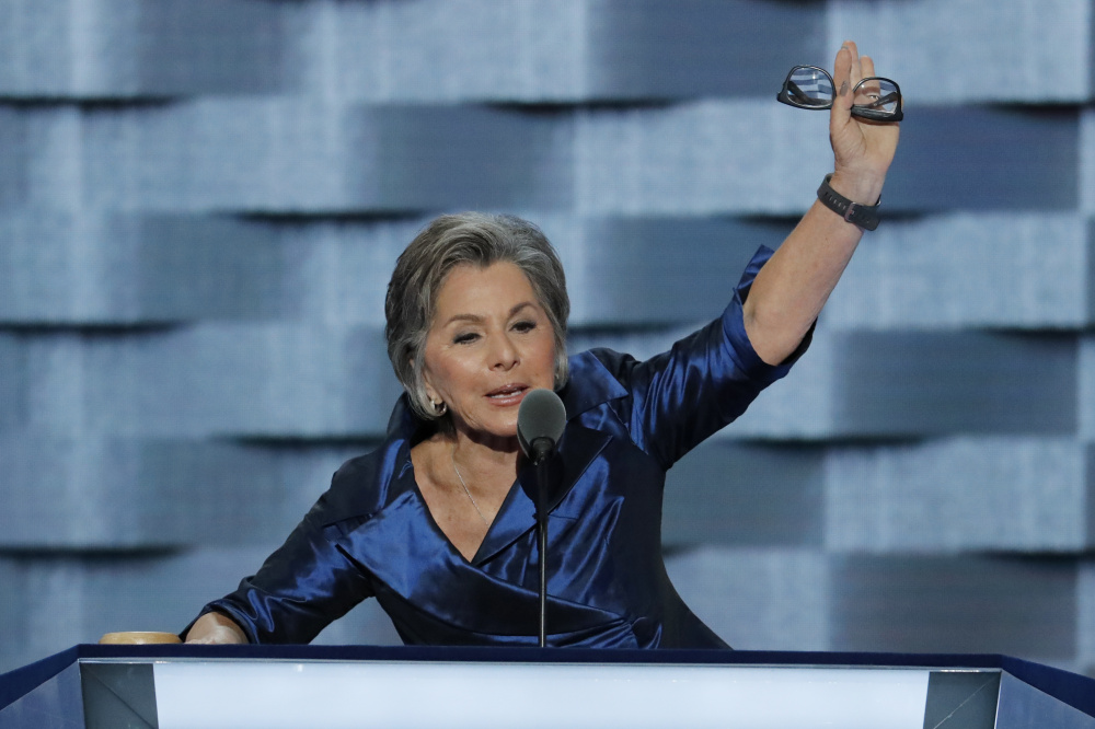 Former Sen. Barbara Boxer says a male colleague publicly embarrassed her with a sexually suggestive comment. It's