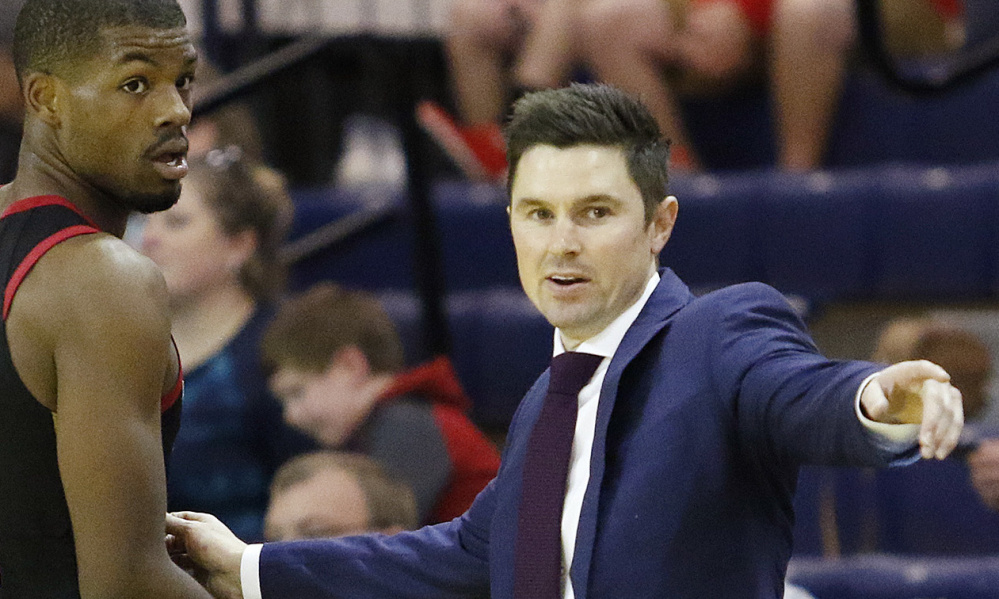 Josh Longstaff played many games at the Portland Expo during his high school days, but Sunday he was there in a different role – as coach of the G League's Erie BayHawks.