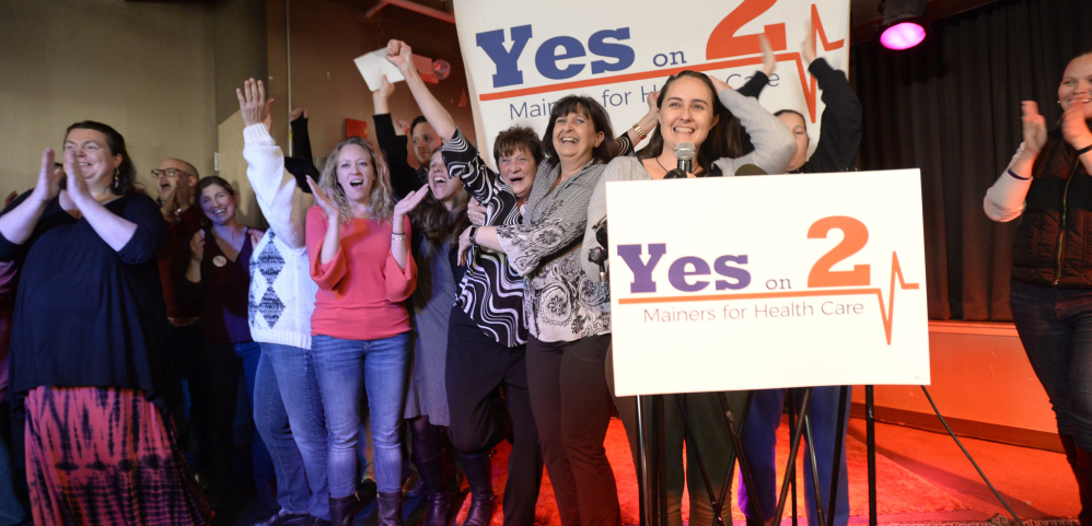 A strong vote in favor of Medicaid expansion should send lawmakers the message that most Mainers don't side with the governor on this issue.