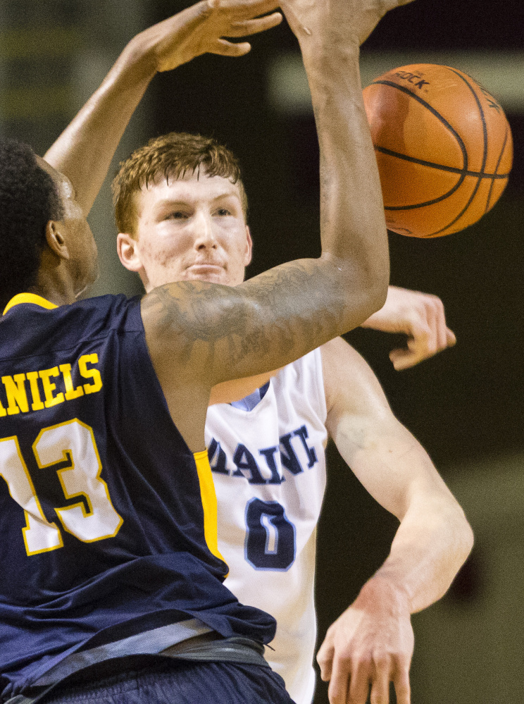 Andrew Fleming, a go-to player for UMaine by the end of his freshman year, will be counted on again.