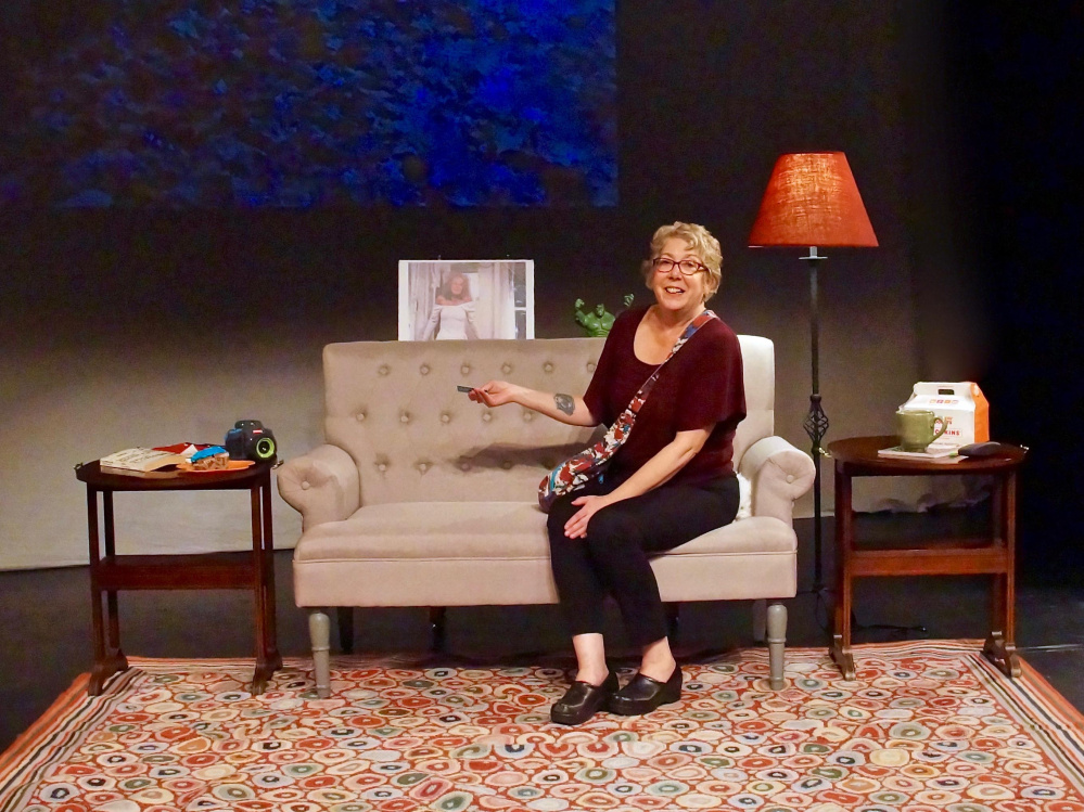 Kari Wagner-Peck in her one-woman show
