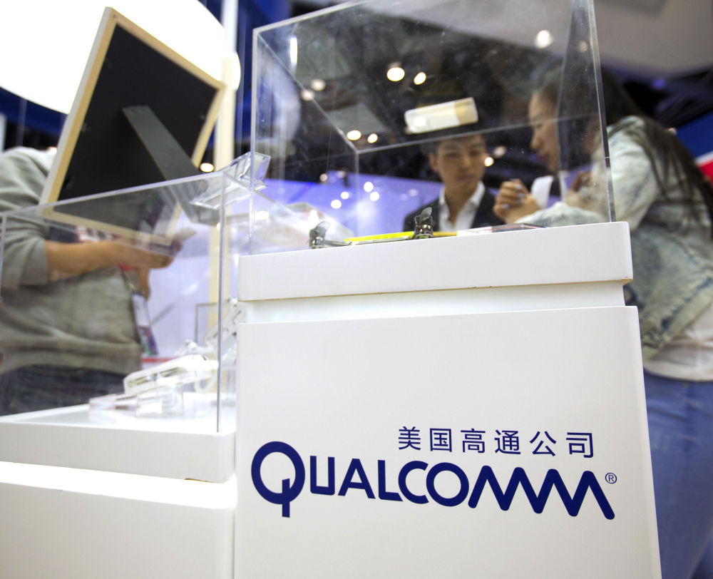 Associated Press/Mark Schiefelbein Qualcomm said it's rejecting an unsolicited offer from Broadcom, saying that the proposal is significantly undervalued.