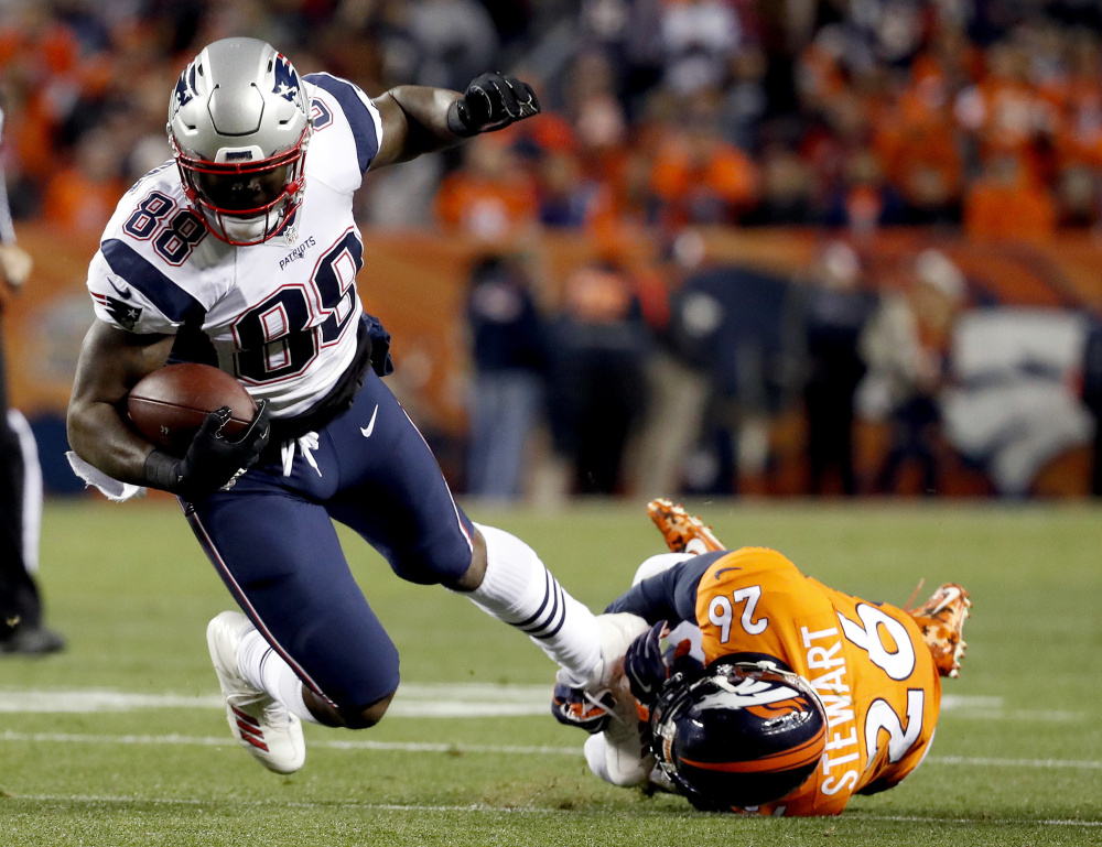 Martellus Bennett was prepared to have surgery and told his agent to tell teams not to claim him. The Patriots did anyway and he had three catches for 38 yards on Sunday night.