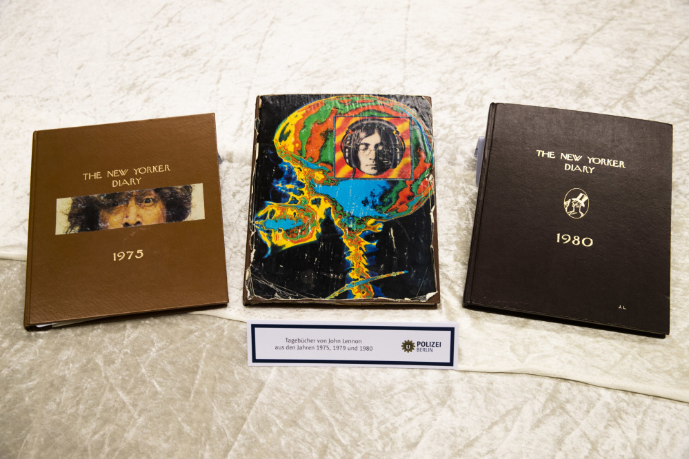 Man Arrested in Berlin Over John Lennon's Stolen Diaries