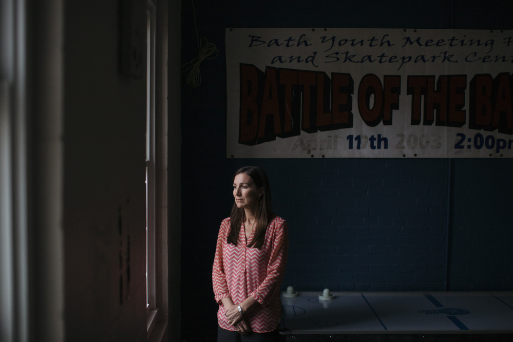 Jamie Dorr launched the Midcoast Community Alliance in the Bath area after the suicide of a young man who used to frequent the Bath Youth Meetinghouse and Skatepark, where Dorr serves as president.
