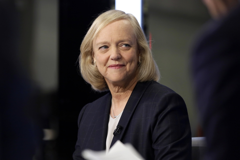 Hewlett Packard Enterprise President and CEO Meg Whitman is stepping down as the CEO of Hewlett Packard Enterprise. She'll be replaced by Antonio Neri, the company's president.