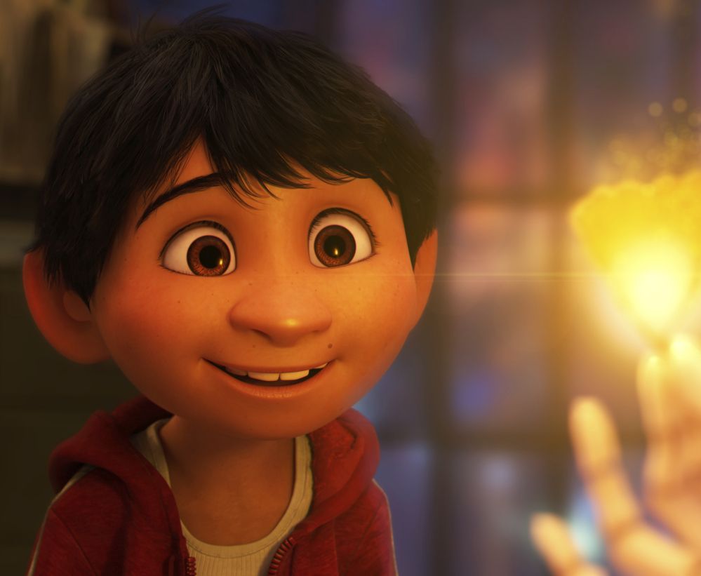 Thirteen-year-old Anthony Gonzalez voices the character Miguel in the animated film