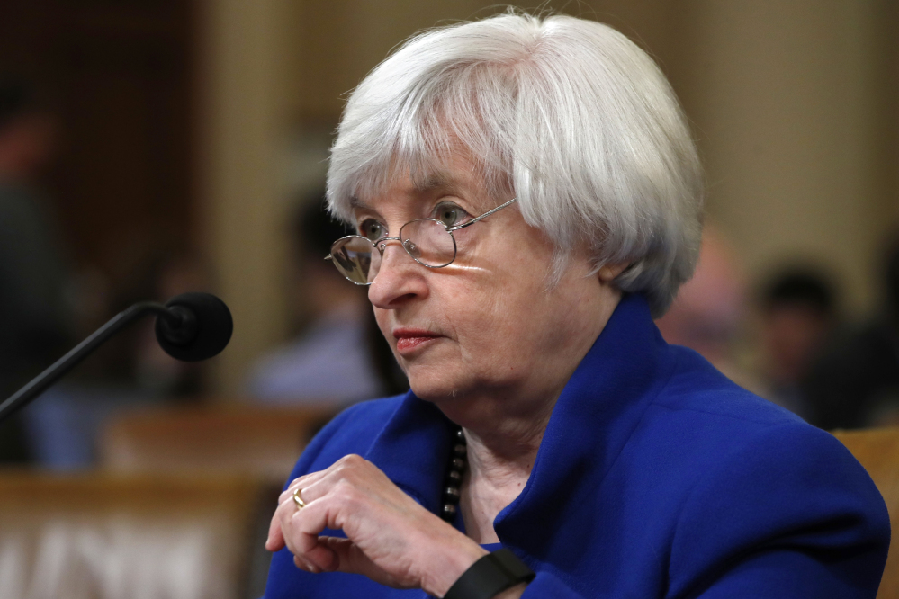 Yellen gives Congress parting shot on growth, debt