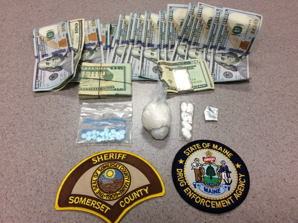 A search of the Fairfield residence and cars of a New Hampshire man and woman turned up 28.95 grams of fentanyl, cash and drug paraphernalia Tuesday, leading to charges being brought against Justin A. Beauchesne and Kristi Vigue, both of New Hampshire.