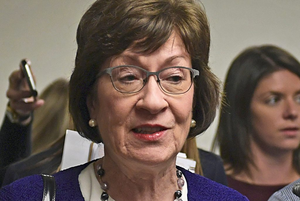Sen. Susan Collins has said fixing the Affordable Care Act should come before any tax reform bill is passed by Congress.