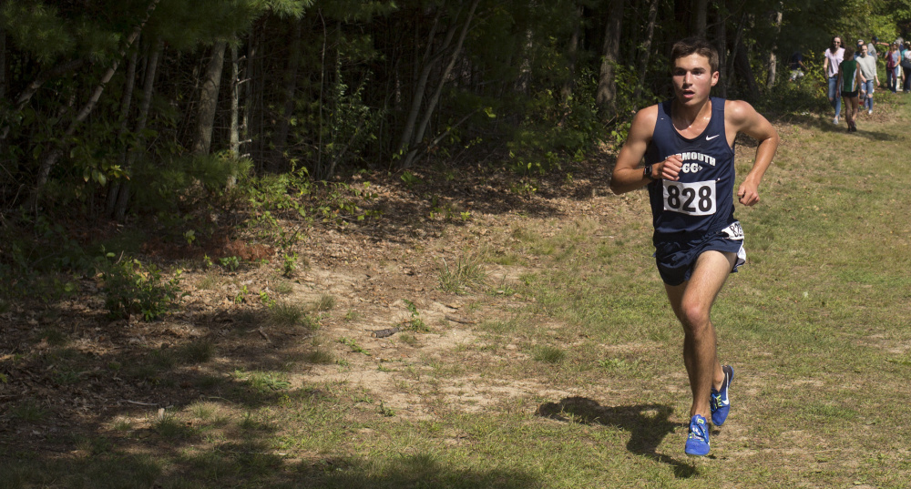 Right: Luke Laverdiere of Yarmouth is our Telegram Boys' Runner of the Year for the second consecutive season.