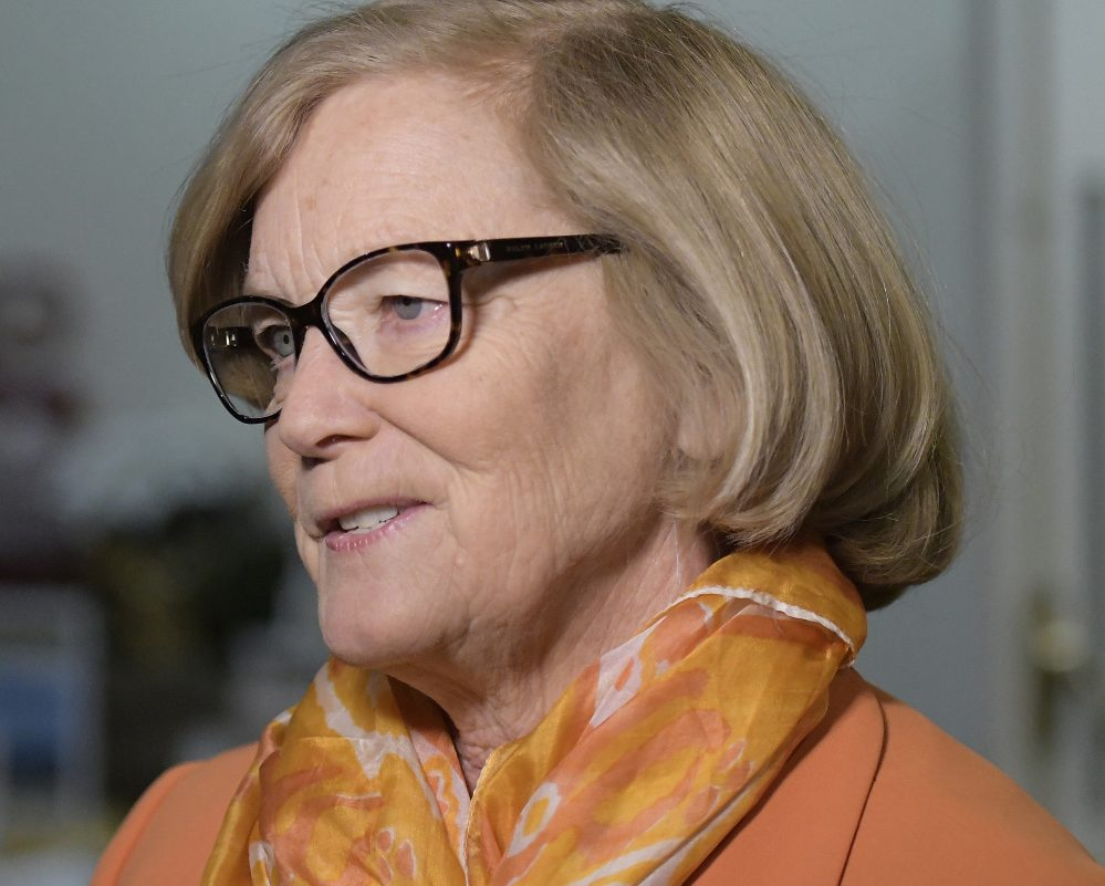 Rep. Chellie Pingree said one reason she might run is to