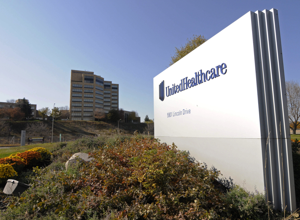 UnitedHealth Group Inc.'s campus in Minnetonka, Minn. The deal to buy DaVita Medical Group will add nearly 300 primary and specialty care clinics and some urgent care centers.